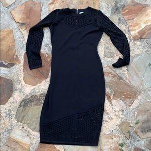 Milly black dress M